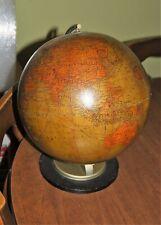 "Antique Hammonds 12"" terrestrial globe patent Pending Brooklyn"