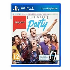 Singstar Ultimate Party Sony Ps4 Aus R4 -