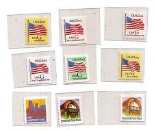 USA set 9 francobolli Nuovi Mint    Rif 10