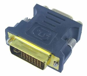 DVI-I(24+5) Male to VGA(15-pin) Female Adapter Gold Plated Buy 2 Get 1 Free
