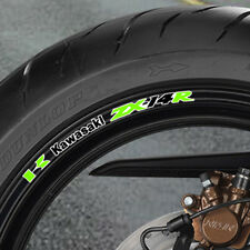 8 x ZX14R Wheel Rim Stickers  Decals  Many Colours - monster energy