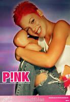 Pink La Face Records Original Promo Poster