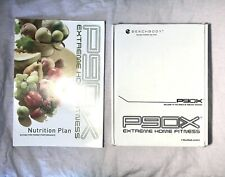 P90X Extreme Home Fitness The Workouts 12 DVD's + Nutrition Plan Book AB RIPPER