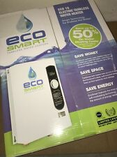 NEW!! Ecosmart 18 Electric Tankless Water Heater - 18KW/240V Self Modulating