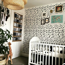Dalmatian Spots STENCIL Nursery Wall Fabric Furniture Painting Decor Stencil
