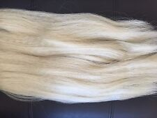 Platinum Blonde Kanekalon Silky Hair For Extension/Braid, Heat and Tangle Resist