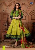 Bollywood Long Dress Fully Stitched Flare Cotton Long Dress Kurti Anarkali 02