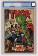 1967 The Mighty Thor Issue #144 - Marvel Comic CGC 8.0 Stan Lee and Jack Kirby