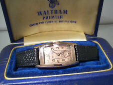 Vintage Art Deco Waltham Premier Herranarmbanduhr -  ca. 1945 incl. BOX