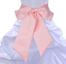 Satin Sash For Wedding Decoration Party Accessory Bridal Shower DIY Plain Sash