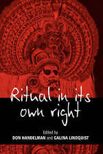 Ritual in Its Own Right: Exploring the Dynamics of Transformation by
