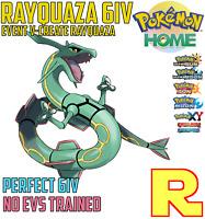 6IV EVENT RAYQUAZA ( V-Create ) ☀️ ULTRA SUN & MOON / HOME 🌙 Legit Pokemon