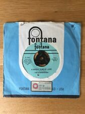 "THE MINDBENDERS. A groovy kind of love. UNIQUE 7"". Fontana. d'importation F-1541"