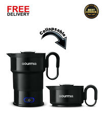 Electric Collapsible Travel Kettle-Fast Boil-Food Grade Silicone-20 oz capacity