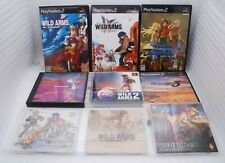 PS1 WILD ARMS 1,2 PS2 WILD ARMS 3rd 4th 5th Alter Code F 6Games w/ DVD Japan