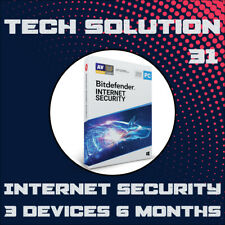 BitDefender Internet Security 2020 3 Devices 6 Months + Free Gift