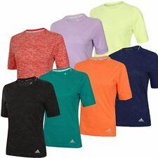 adidas Womens Ladies Supernova climalite Crew Running T-Shirt Training Tee Shirt