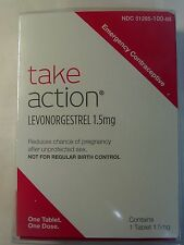 Take Action Emergency Contraceptive One Tablet Pill Compare to Plan B Exp 2020