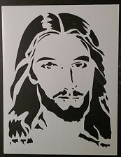"Jesus Christ Face Christmas 8.5"" x 11"" Custom Stencil FAST FREE SHIPPING"