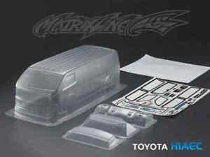 1/10 RC Car Clear Body Shell Toyota Hiace