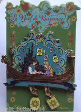DISNEY TANGLED RAPUNZEL FLYNN GONDOLA LANTERN CHRISTMAS LIMITED EDITION PIN RARE