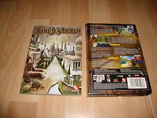 CIVILIZATION IV 4 SID MEIER'S DE FIRAXIS GAMES PARA PC USADO EN MUY BUEN ESTADO