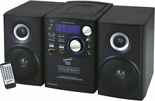 SC807 Supersonic Micro Hi-Fi System iPod Supported CD Player Cassette Recorder