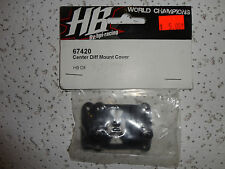 PARTS NEW Hot Bodies (HB), 67420 Center differential mount cover D8
