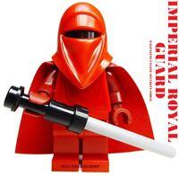 LEGO STAR WARS EMPEROR IMPERIAL ROYAL GUARD 100% LEGO 75034 PALPATINE'S GUARD