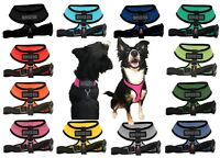 Service Dog Mesh Padded Soft Puppy Pet Dog Harness Breathable 12 Colors 5 Sizes