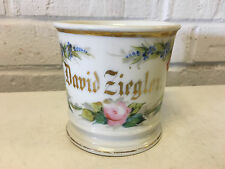 Vtg Antique R. Delinieres & Co Limoges Ceramic Shaving Mug David Ziegler
