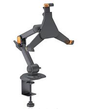 Brateck PAD4- 03S Twin Arm Desk Clamp Mount, iPad Mini & most 7-8.5 Inch Tablets