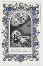 XIXsec GESU BAMBINO santino holy card Christ Child Jesuskind Niño Jesús Enfant