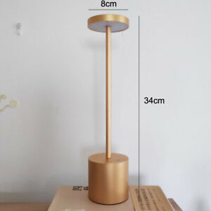 Portable Bar Table Lamps Cordless Chargeable Desk Lamp Bedroom Restaurant Lights