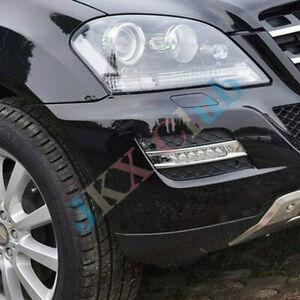 For Mercedes-Benz ML350 W164 ML280 MO o LED Daytime Running Light Fog Lamp Cover