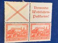 GERMANY mi#s100 block of 4 DEUTSCHES REICH 1932, Mi. S 100 mh