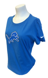 Nike Women's Detroit Lions Ndamukong Suh #90 NFL Blue Slim Fit Shirt Size XS