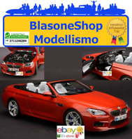 BMW F12M M6 Cabrio Sakhir Orange 1:18  die cast Arancio Spyder Paragon Models