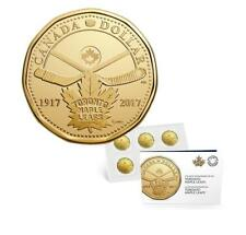 2017 Canada $1 Toronto Maple Leafs 100th Anniversary 5-pack Coin Loonie