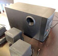 Cambridge Soundworks Digital  Stereo Computer Speakers & Subwoofer 40 watt