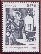 2010 FRANCE N°4532** MARIE CURIE Nobel Chimie, Chemistry France 2010 MNH