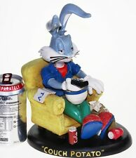Bugs Bunny Figurine 'Couch Potato' Warner Brothers - FREE P&P [PL1859]
