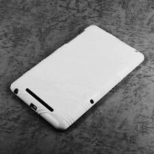 White Gel TPU Case Skin Cover For Google ASUS Nexus 7 1st Gen (2012)