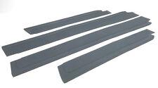 Mercedes W110 W111 220 Fintail Grey Door Sill Rubber Mat Set 4 Pcs New
