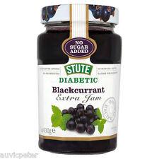 Stute Diabetic Blackcurrant Extra Jam 430g, No Sugar Added, No Preservatives
