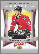 07/08 MVP Rookie RC Jonathan Toews 351 Blackhawks