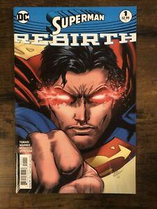 Superman Rebirth One Shot #1 1st Print DC Comics (Jul, 2016) 9.4 NM