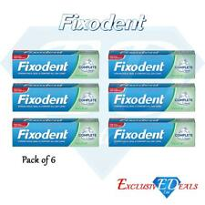 6 x Fixodent Cream Complete Strong Hold Adhesive Denture Cream Neutral 47g