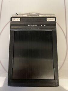 Graflex Riteway #1284 Plastic Film Holder for 4x5 Cut Sheet Film
