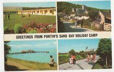 Pontins Holiday Camp, Sand Bay Weston Super Mare 1975 Postcard, B374